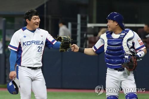 박민우·허경민 '선발 복귀'…이영하·고우석·하재훈 '대기'