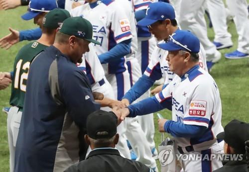 """호주 야구대표팀 """"한국 이겨라! 질롱코리아 매우 환영"""""""