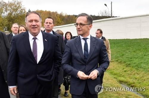 """中, 폼페이오 '중국위협론'에 """"악랄한 공격 행위"""""""