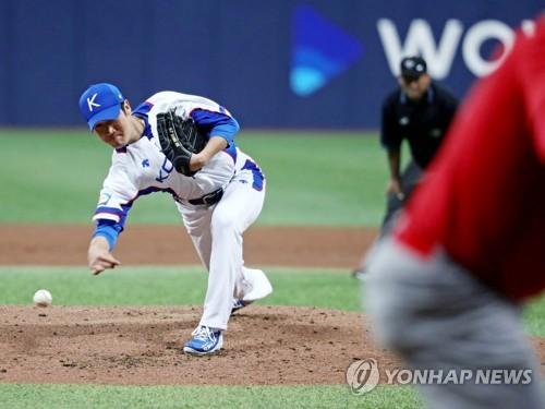 """'잠수함' 박종훈 """"4이닝 만족…제가 광현이 형은 아니니까""""(종합)"""