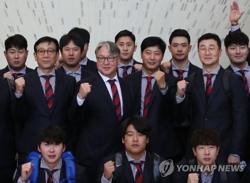 """김경문 감독 """"슈퍼라운드서 3승 이상 해야 결승 갈 듯"""""""