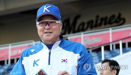 김경문 감독, 대만과 결전 치를 지바 조조마린스타디움 시찰