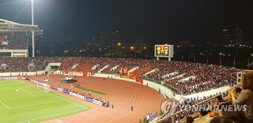 박항서 의 베트남, 태국 과 0-0 무승부 ... 월드컵 예선 선두 유지 (종합)