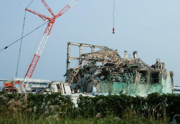 일본 후쿠시마 원전. 로이터