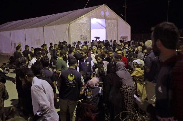 시리아인 난민 수용시설. 해당사진은 이번 사건과 직접적인 관련이 없음. 사진=연합뉴스