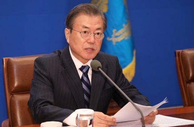 전반전 끝낸 文대통령에…'민주당·한국당' 정반대 평가