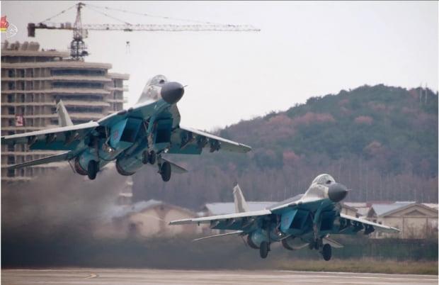 북한 전투비행술경기대회에 등장한 미그-29 /사진=연합뉴스