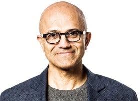 사티아 나델라 마이크로소프트 CEO
