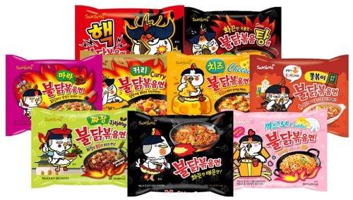 삼양식품의 불닭볶음면이 중국 광군제에서 농심 신라면을 제쳤다. (사진 = 연합뉴스)
