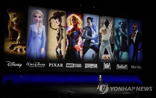 디즈니 출시 첫날 가입자 1000만명 돌파…2024년까지 9000만