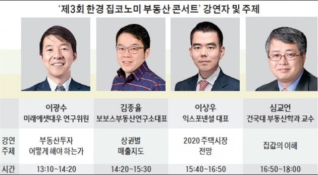 """""""집값 내년에도 상승"""" vs """"상반기가 변곡점""""…오늘 집코노미 콘서트"""