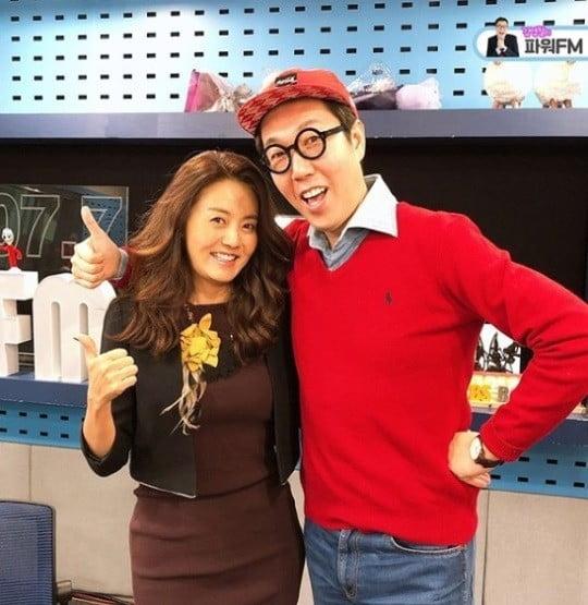 손미나, 김영철/사진=SBS 파워FM '김영철의 파워FM' 인스타그램