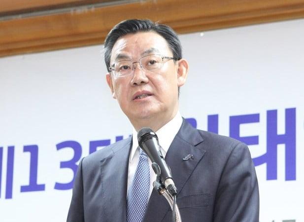 """김태영 은행연합회장 """"DLF 소비자 피해 송구…신뢰 회복 노력"""""""