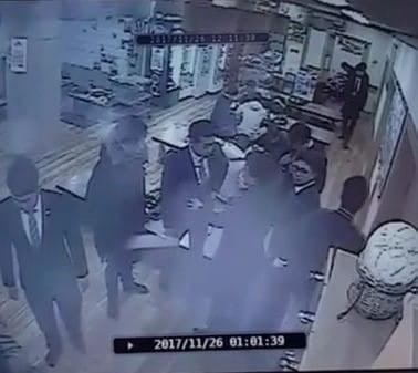 곰탕집 성추행 논란 당시 CCTV