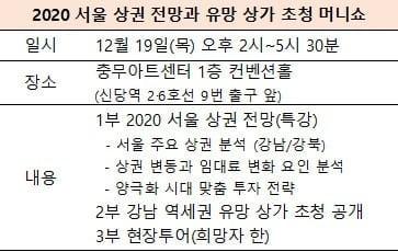 [한경부동산] 2020 유망 상가 머니쇼 … 오늘 2시 개최