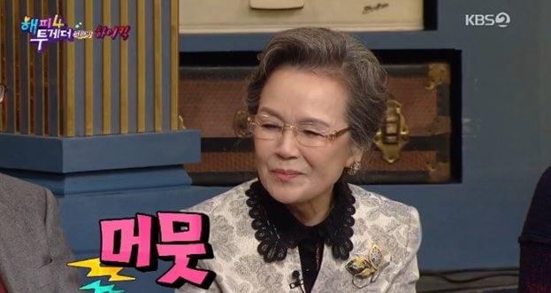 정영숙 돌직구 / 사진 = '해피투게더4' 방송 캡처