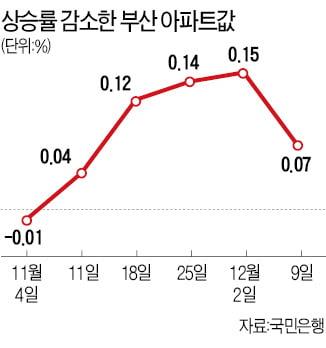 [집코노미] 뜨겁던 부산 집값, 벌써 하락?