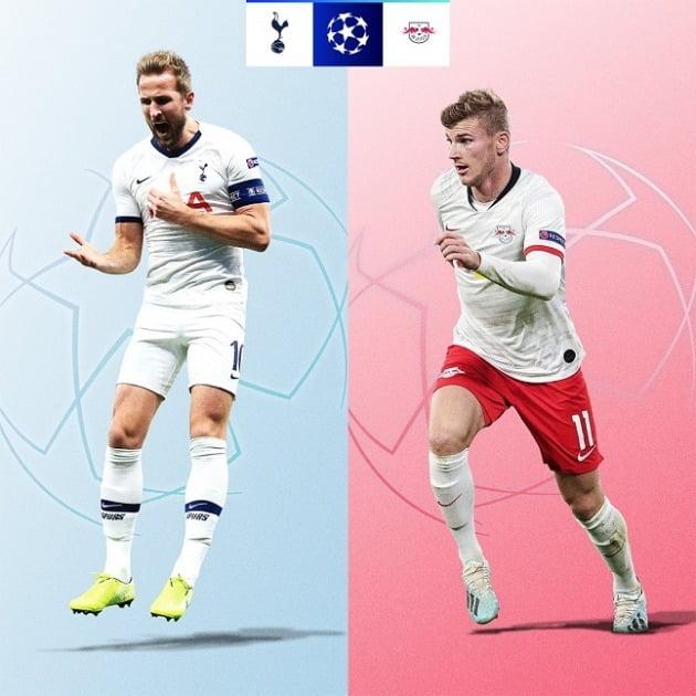 토트넘 라이프치히 챔스 16강 조추첨 / 사진 = UEFA 공식 SNS