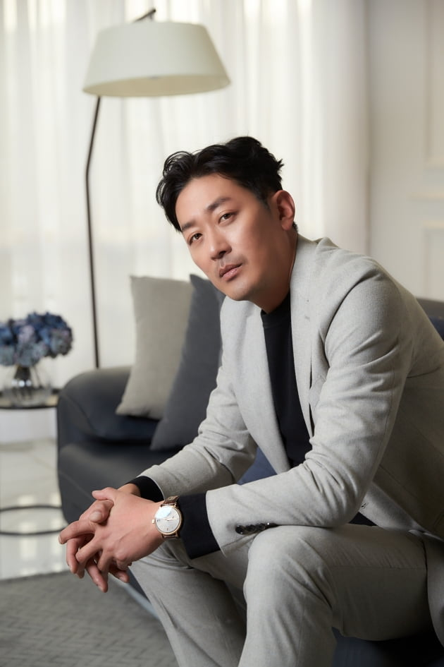 영화 '백두산' 하정우/사진=CJ엔터테인먼트