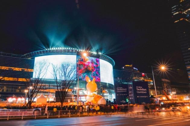 이달 31일까지 삼성동 코엑스광장 일대에서 열리는 윈터 페스티벌. 사진은 지난해 행사 모습  /코엑스 제공