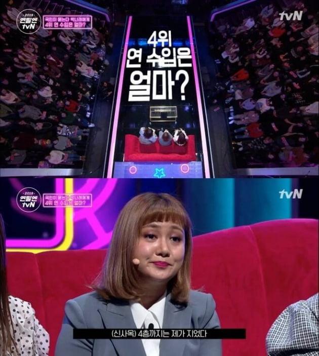 tvN '박나래쇼' 박나래 수입 /사진=tvN 방송화면 캡처