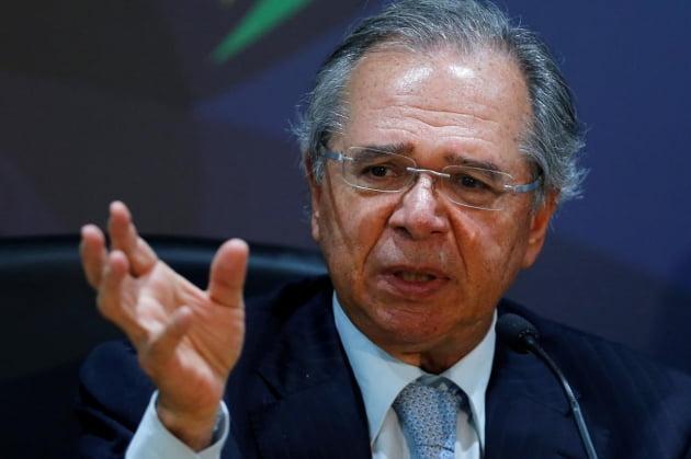 파울루 게지스 브라질 재무장관(사진=로이터)