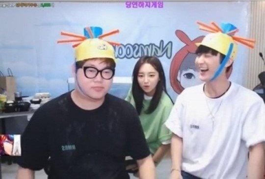 BJ 감스트, 외질혜, 남순 /사진=아프리카TV 캡처