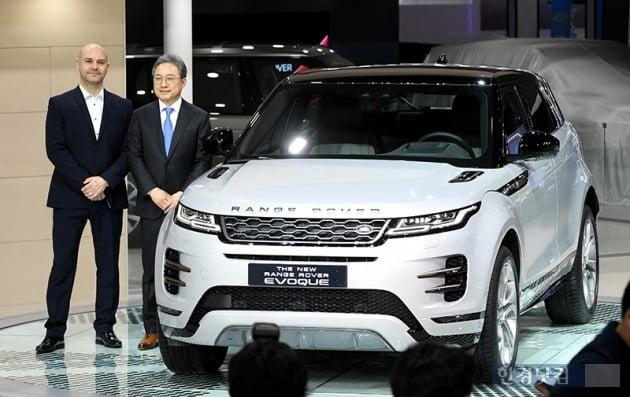랜드로버코리아는 올해 준중형 SUV 레인지로버 이보크를 출시하는 등 신차를 선보였지만 시장 호응을 이끌어내지 못했다. 사진=최혁 한경닷컴 기자