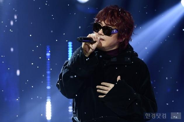 [포토] 김장훈, '흰 눈 속에서 멋지게~'