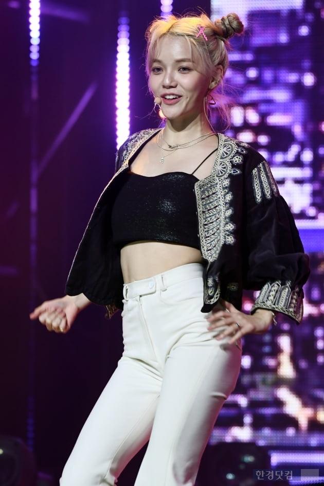 [포토] AOA 지민, '매력적인 미소~'