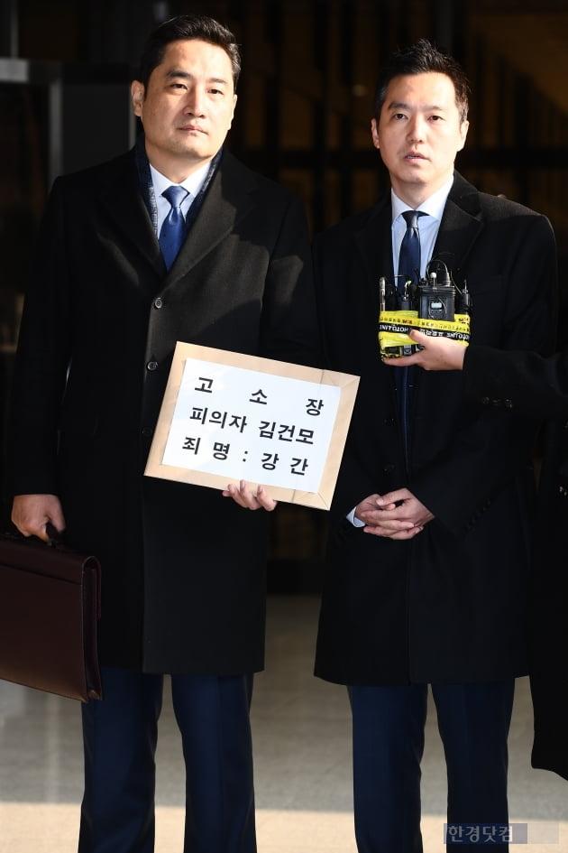 """강용석·김세의 """"우파 연예인 김건모 고소 비난…정치와 관련無"""" [종합]"""