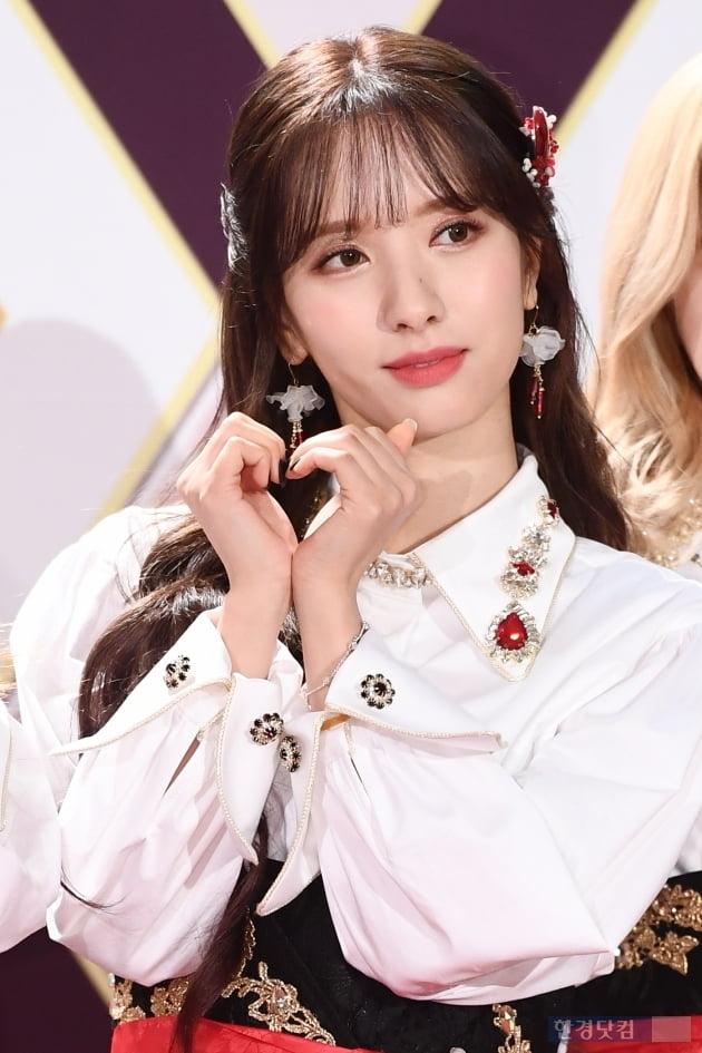 [포토] 우주소녀 보나, '예쁘게 하트~' (2019 KBS 가요대축제)