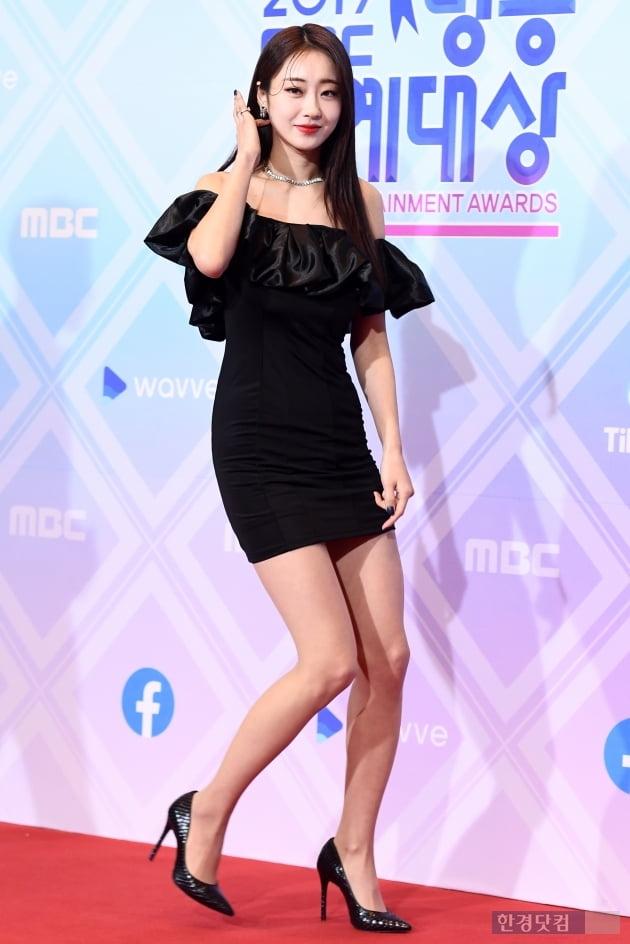 [포토] 경리, '군살 없는 우월한 비율~' (2019 MBC 방송연예대상)