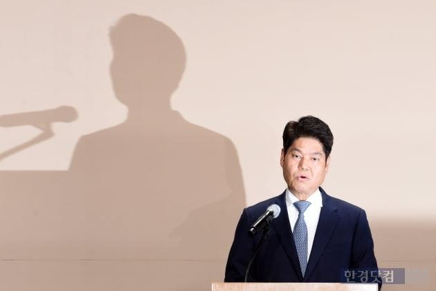 """[포토] 허민회 CJ ENM 대표 """"피해 연습생에 반드시 책임지고 보상"""""""