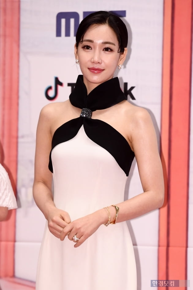 [포토] 이유리, '아름답다는 말 밖에...' (2019 MBC 연기대상)