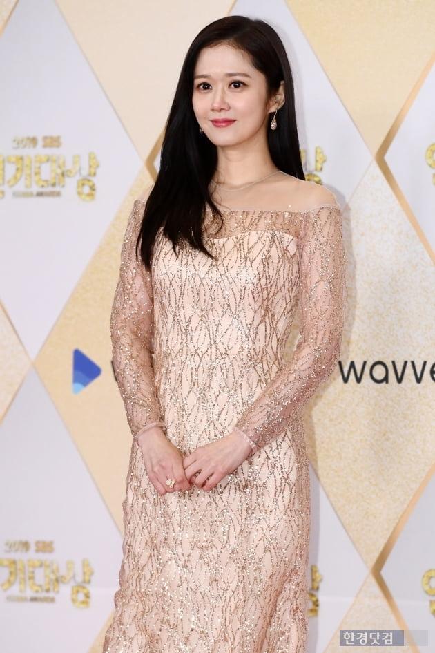 [포토] 장나라, '반짝반짝 빛나는 미모~' (2019 SBS 연기대상)