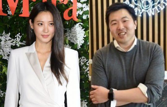 배우 수현(왼쪽), 기업인 차민근./ 사진=텐아시아DB