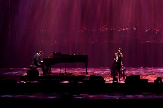 가수 김동률(오른쪽), 피아니스트 김정원. / 제공=뮤직팜