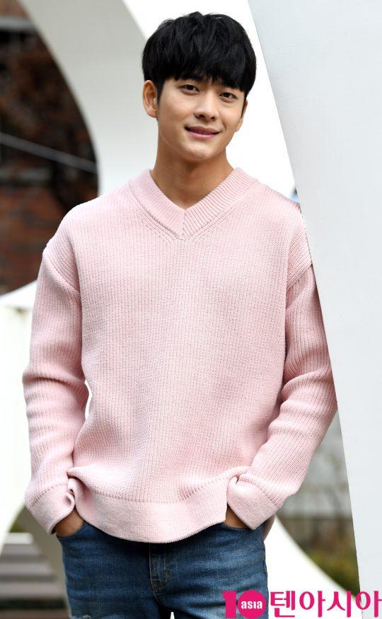 지난달 25일 종영한 KBS2 월화드라마 '조선로코-녹두전'에서 차율무(능양군)를 연기한 배우 강태오. / 조준원 기자 wizard333@