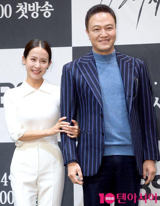배우 조여정, 정웅인. / 서예진 기자 yejin@