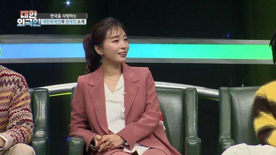 '대한외국인'에 출연한 가수 이상미./사진제공=MBC에브리원