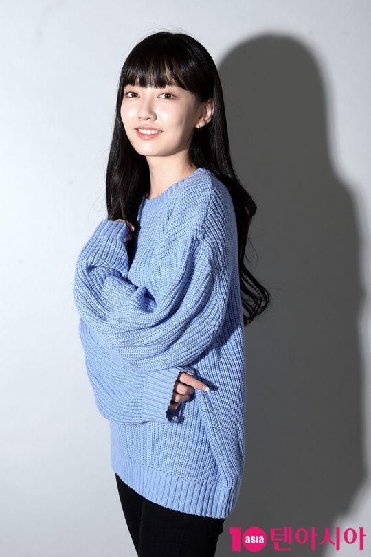 '어쩌다 발견한 하루'에서 여주인공의 단짝 친구이자 남주인공을 짝사랑하는 신새미 역으로 열연한 배우 김지인. /서예진 기자 yejin@
