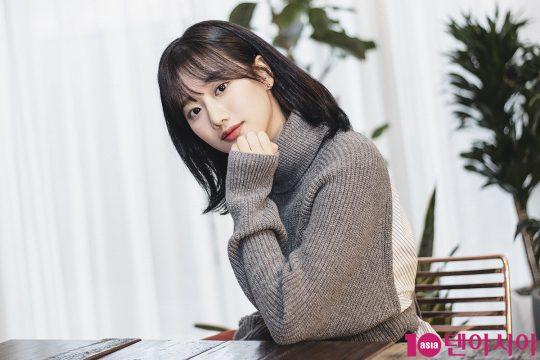 """걸그룹 에이프릴의 이나은은 """"새해 3월 새 앨범으로 컴백할 예정""""이라고 밝혔다./사진=텐아시아DB"""