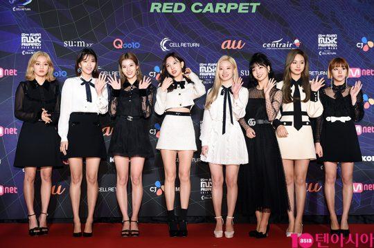 그룹 트와이스 /사진 제공=엠넷(Mnet)