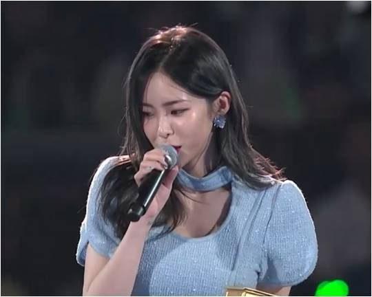 '2019 마마' 방송화면 캡처.
