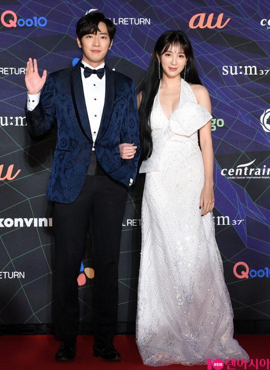 배우 이상엽, 정혜성 /사진 제공=엠넷(Mnet)