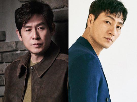 배우 설경구(왼쪽), 박해수. /사진제공=씨제스엔터테인먼트, BH엔터테인먼트