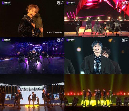 Mnet '2019 MAMA' 방송화면