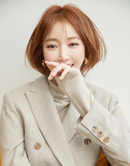 예능 프로그램 '연애의 참견'에 출연하고 싶다는 배우 고준희./ 사진제공=마운틴 무브먼트