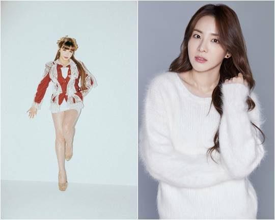 가수 박봄(왼쪽), 산다라박./ 사진제공=디네이션
